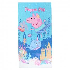 Peppa Pig strandlaken Under Water 70 x 140 cm.