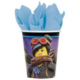 Lego Movie 2 bekertjes 8 st. 266 ml.