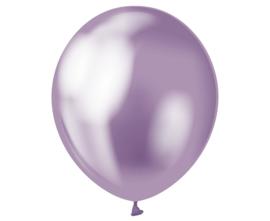 Chrome ballonnen paars ø 30 cm. 7 st.