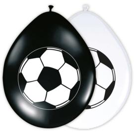 Voetbal ballonnen ø 30 cm. 8 st.