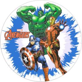 Avengers Assemble ouwel taart decoratie ø 20 cm. B