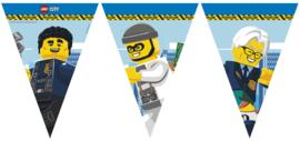 Lego City Politie vlaggenlijn 2,3 mtr.