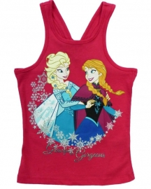 Disney Frozen Gracefull and Gorgeous singlet fuchsia mt. 134