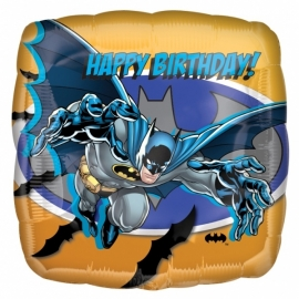 Batman happy birthday folieballon ø 43 cm.