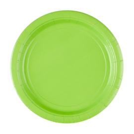 Lime groene feestartikelen