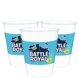 Battle Royal bekertjes 473 ml. 8 st.