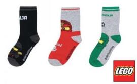 Lego Ninjago sokken 3 paar B mt. 23-26
