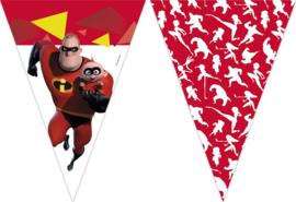 Disney The Incredibles 2 vlaggenlijn 2,3 mtr.