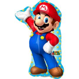 Super Mario Bros folieballon S 20 x 30 cm.
