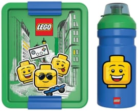 Lego lunchset Iconic boy