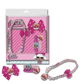 LOL Surprise haar accessoires set met ketting