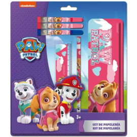 Paw Patrol Skye stationery set 6-delig