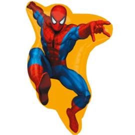 Spiderman folieballon XL 40 x 58 cm.