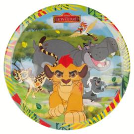 Disney The Lion Guard bord melamine ø 20,3 cm.