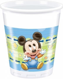 Disney Baby Mickey Mouse bekertjes 8 st.