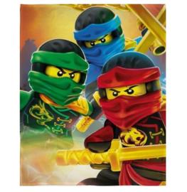 Lego Ninjago fleecedeken 100 x 150 cm.