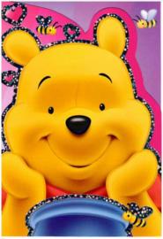 Disney Winnie de Poeh wenskaart (blanco)