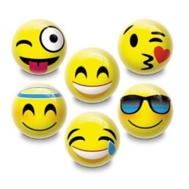 Smiley uitdeel bal ø 6 cm. p/stuk