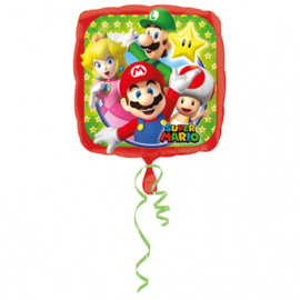 Super Mario Bros folieballon 43 cm.