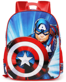 Avengers Captain America rugzak 40 x 31 x 15 cm.