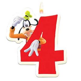 Disney Goofy 4e verjaardag taart kaars