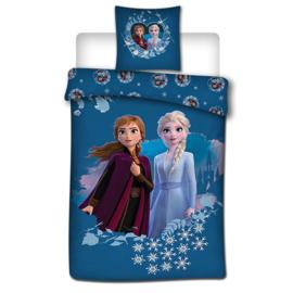 Disney Frozen II dekbedovertrek 140 x 200 cm.