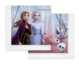 Disney Frozen 2 servetten 33 x 33 cm. 20 st.