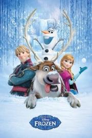 Disney Frozen Snow poster 61 x 91,5 cm.