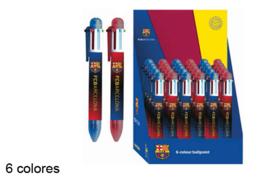 FC Barcelona 6-kleuren pen p/stuk