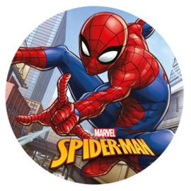 Marvel Spiderman ouwel taart decoratie ø 20 cm.