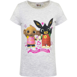 Bing en Sula t-shirt grijs Yoo-Hoo mt. 116