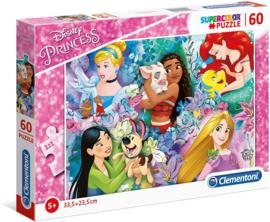Disney Princess puzzel Dieren 60 stukjes