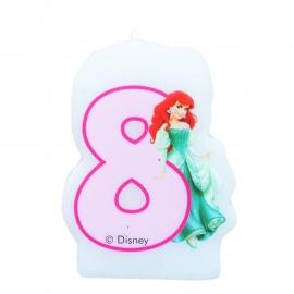 Disney Princess Ariel 8e verjaardagskaars