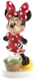 Disney Minnie Mouse 3D verjaardag taart kaars 8 cm.