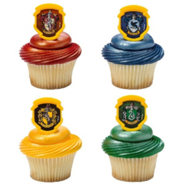 Harry Potter cupcake ringen 8 st.