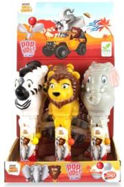 Safari Jungle pop up lollie p/stuk