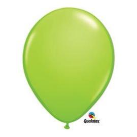 Ballon lime groen ø 12 cm. 10 st. (Qualatex)
