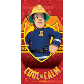 Brandweerman Sam strandlaken Cool & Calm 70 x 140 cm.