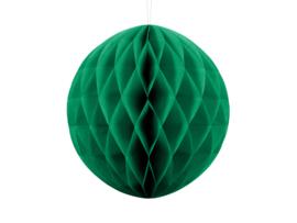 Honeycomb bal party emerald groen ø 30 cm.
