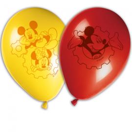 Disney Mickey Mouse Playfull Mickey ballonnen ø 28 cm. 8 st.