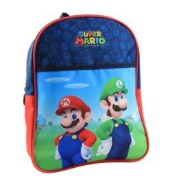 Super Mario en Luigi rugzak 30 x 25 x 10 cm.