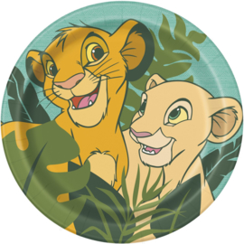 Disney The Lion King bordjes ø 21,9 cm. 8 st.