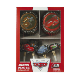 Disney Cars cupcake decoratieset 48-delig