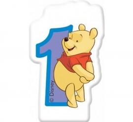 Disney Winnie de Poeh 1e verjaardagskaars