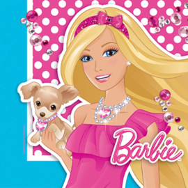 Barbie servetten 33 x 33 cm. 16 st.