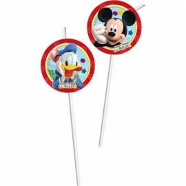 Disney Mickey Mouse rietjes 6 st.