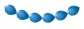 Knoopballonnen blauw 3 mtr.