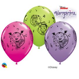 Disney Vampirina ballonnen ø 28 cm. 6 st.