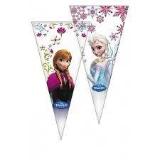 Disney Frozen snoep puntzak 20 x 40 cm. 6 st.