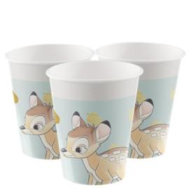 Disney Bambi bekertjes 8 st.